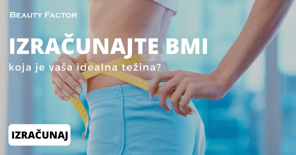 Izračunajte BMI koja je vaša idealna težina Beauty Factor